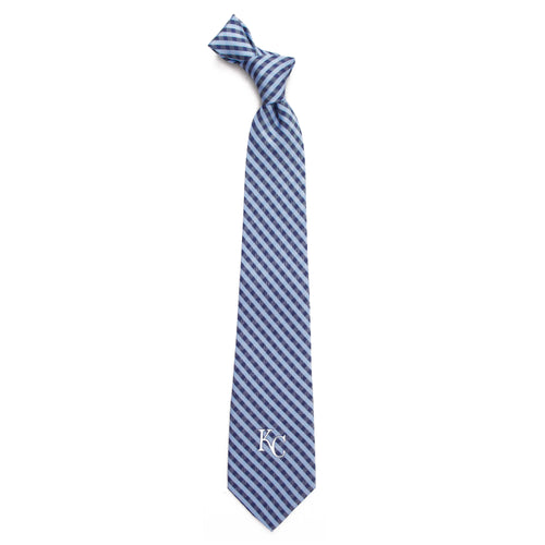 Kansas City Royals Tie Gingham