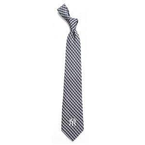 New York Yankees Tie Gingham