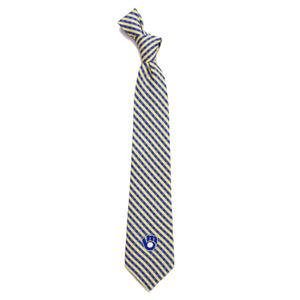 Milwaukee Brewers Tie Gingham