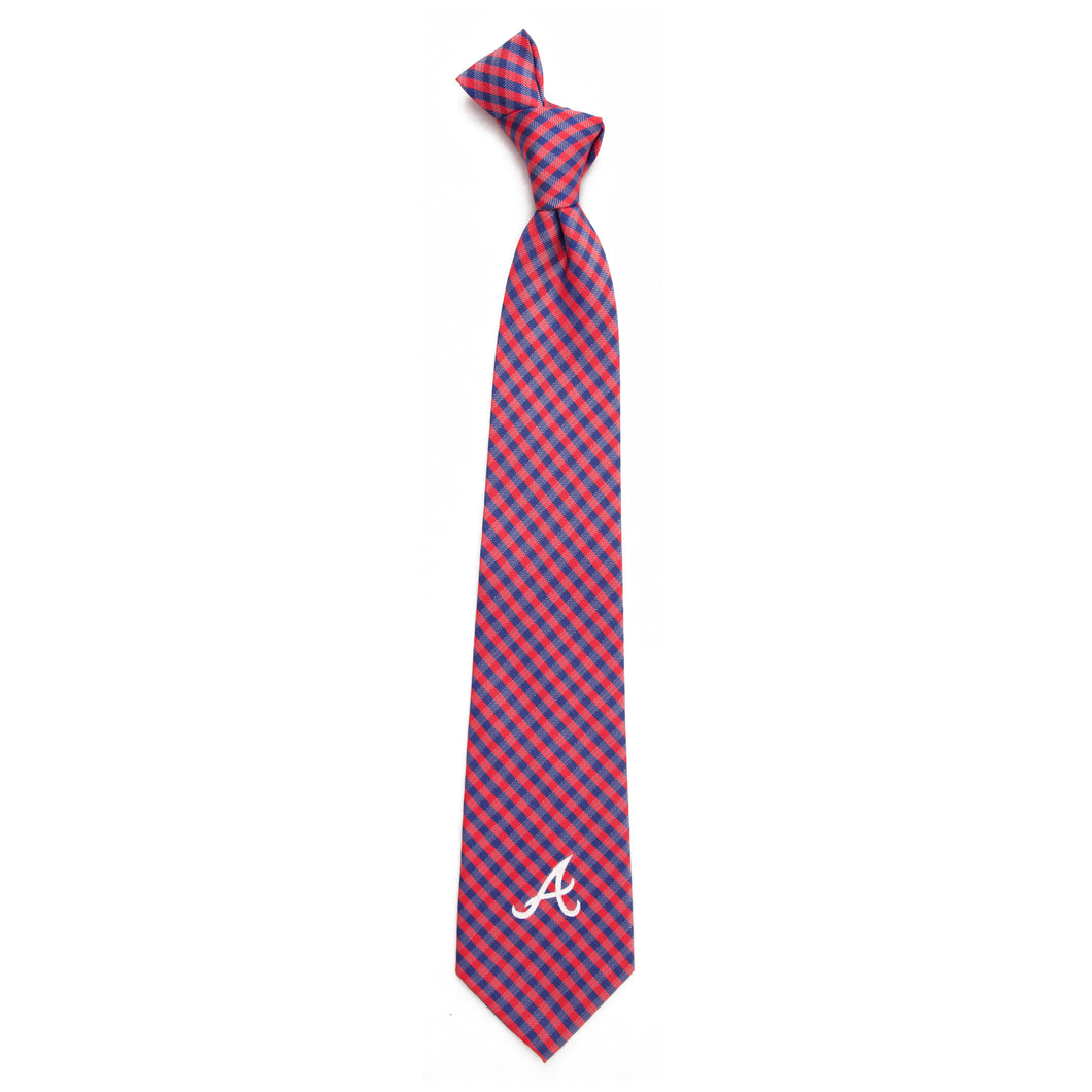 Atlanta Braves Tie Gingham
