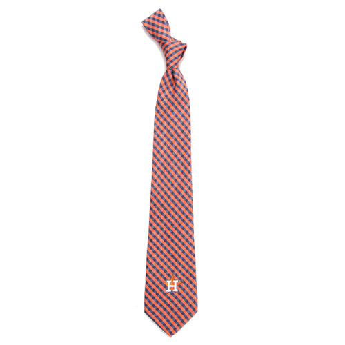 Houston Astros Tie Gingham