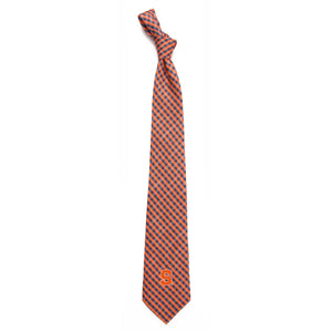 Syracuse Orange Tie Gingham