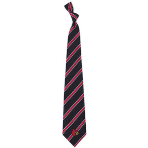 Louisville Cardinals Tie Woven Poly 1