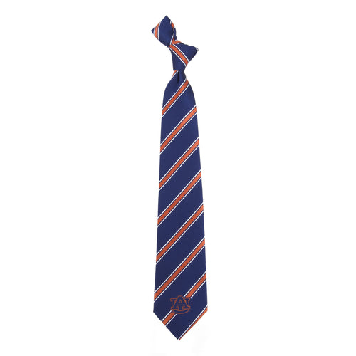 Auburn Tigers Tie Woven Poly 1