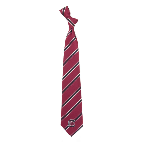 South Carolina Gamecocks Tie Woven Poly 1
