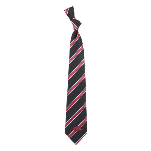 Arkansas Razorbacks Tie Woven Poly 1