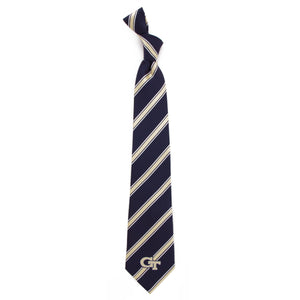 Georgia Tech Yellow Jackets Tie Woven Poly 1