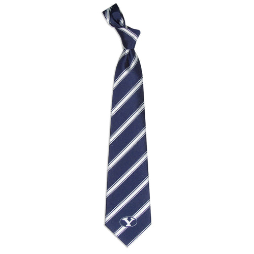 BYU Cougars Tie Woven Poly 1