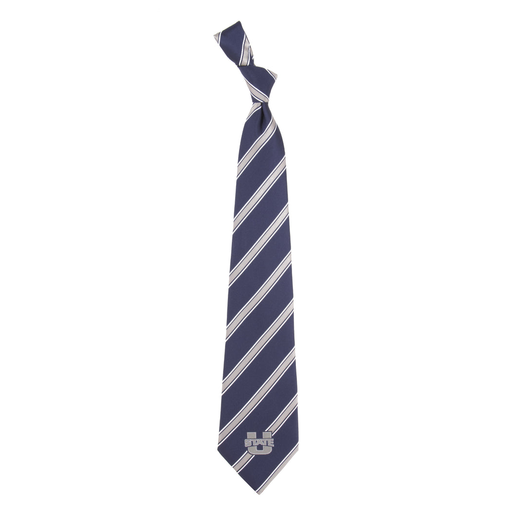 Utah State Tie Woven Poly 1