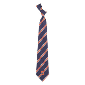Syracuse Orange Tie Woven Poly 1