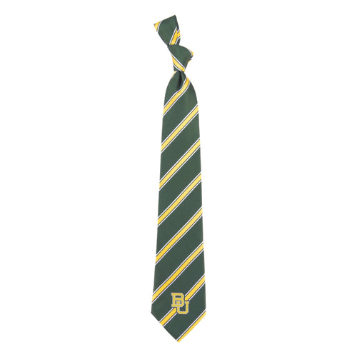 Baylor Bears Tie Woven Poly 1