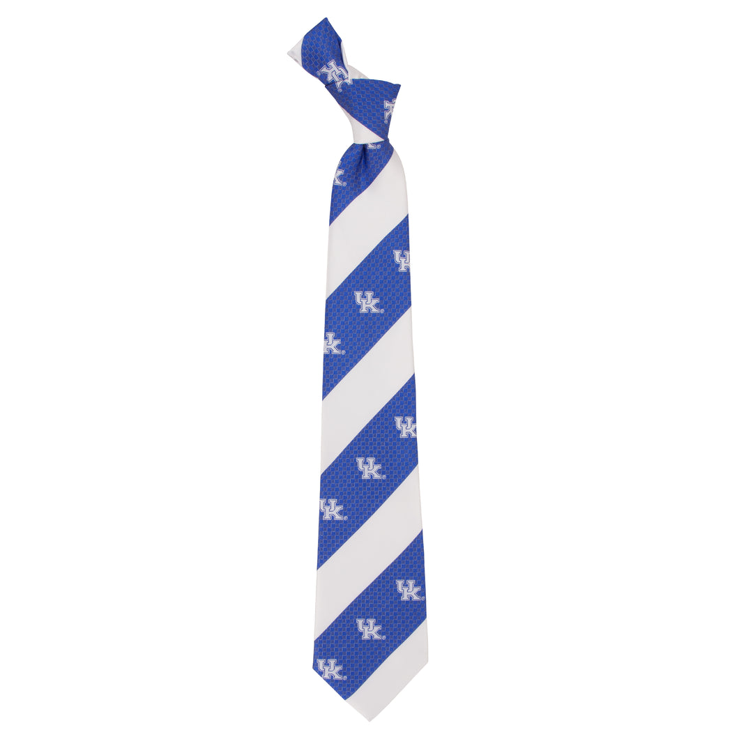 Kentucky Wildcats Tie Geo Stripe