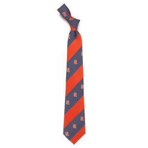 Syracuse Orange Tie Geo Stripe