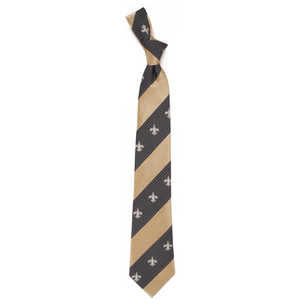 New Orleans Saints Tie Geo Stripe