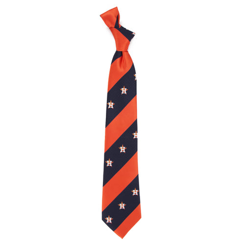 Houston Astros Tie Geo Stripe