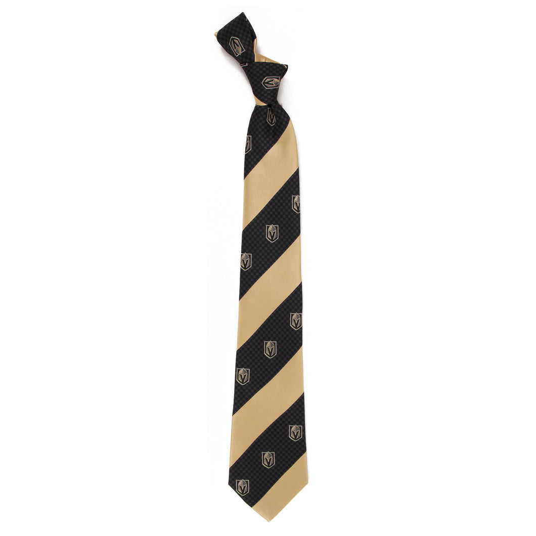 Vegas Golden Knights Tie Geo Stripe