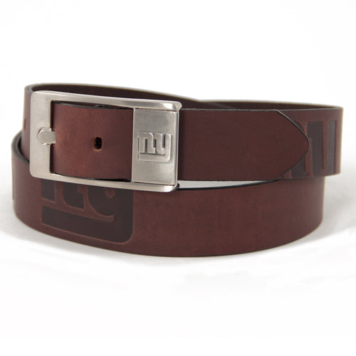 New York Giants Belt Brandish