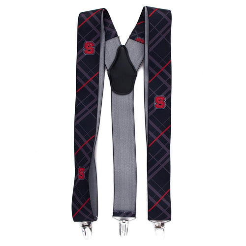 NC State Suspender Oxford