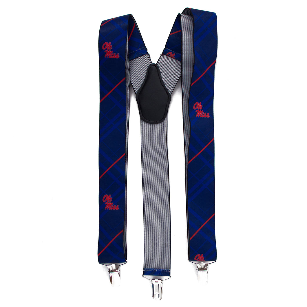 Ole Miss Suspender Oxford