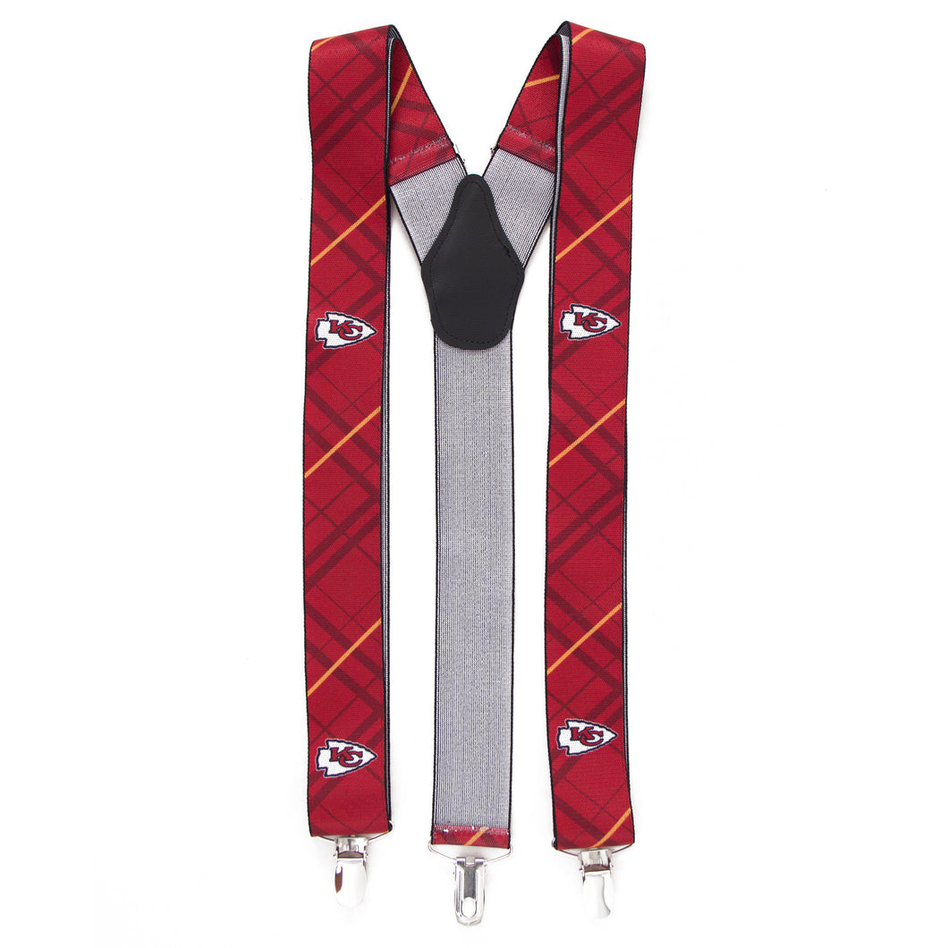 Kansas City Chiefs Suspender Oxford