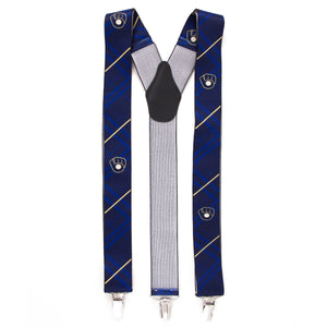 Milwaukee Brewers Suspender Oxford