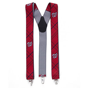 Washington Nationals Suspender Oxford