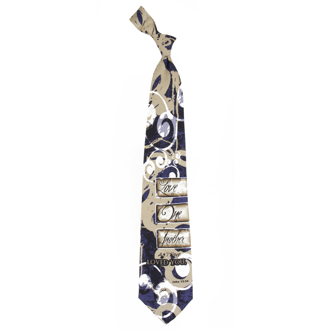 Inspirational Tie - Love One Another