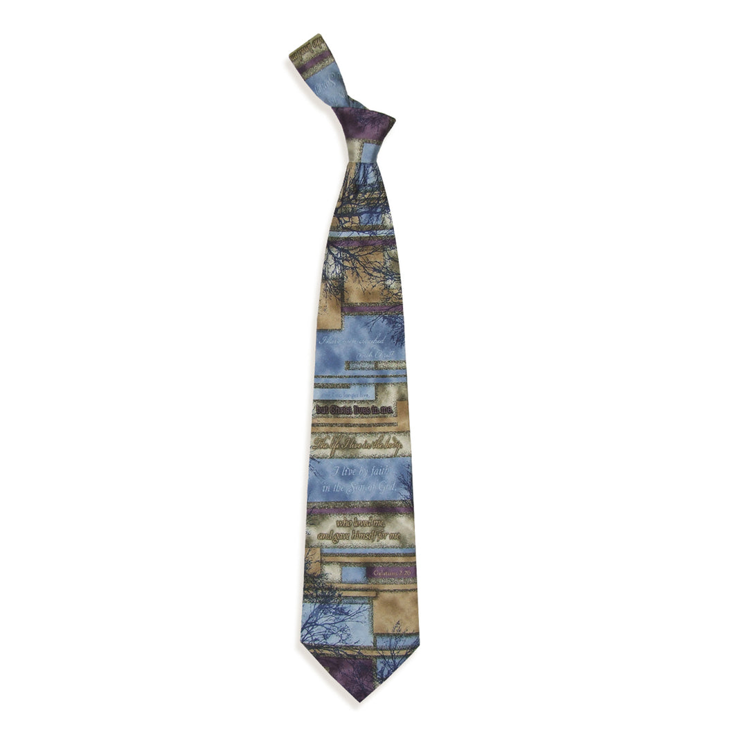 Inspirational Tie - Crucified With Christ