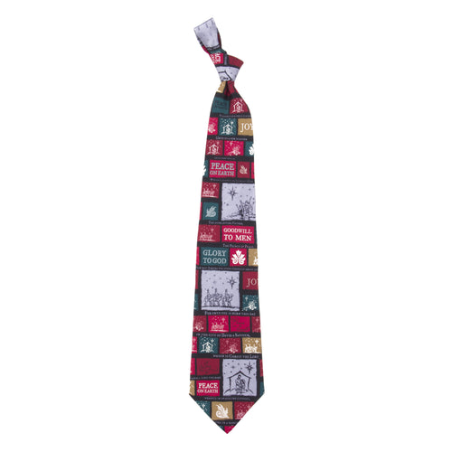 Inspirational Tie - Christmas Pattern 1