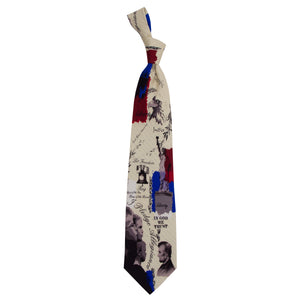 Patriotic Tie Pledge of Allegiance Necktie