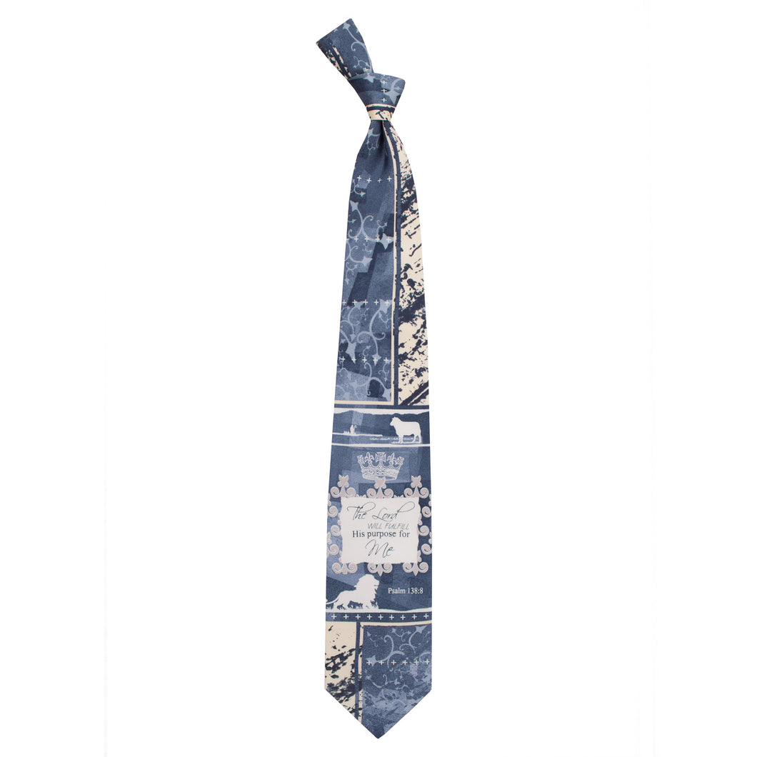 Inspirational Tie - The Lord's Purpose