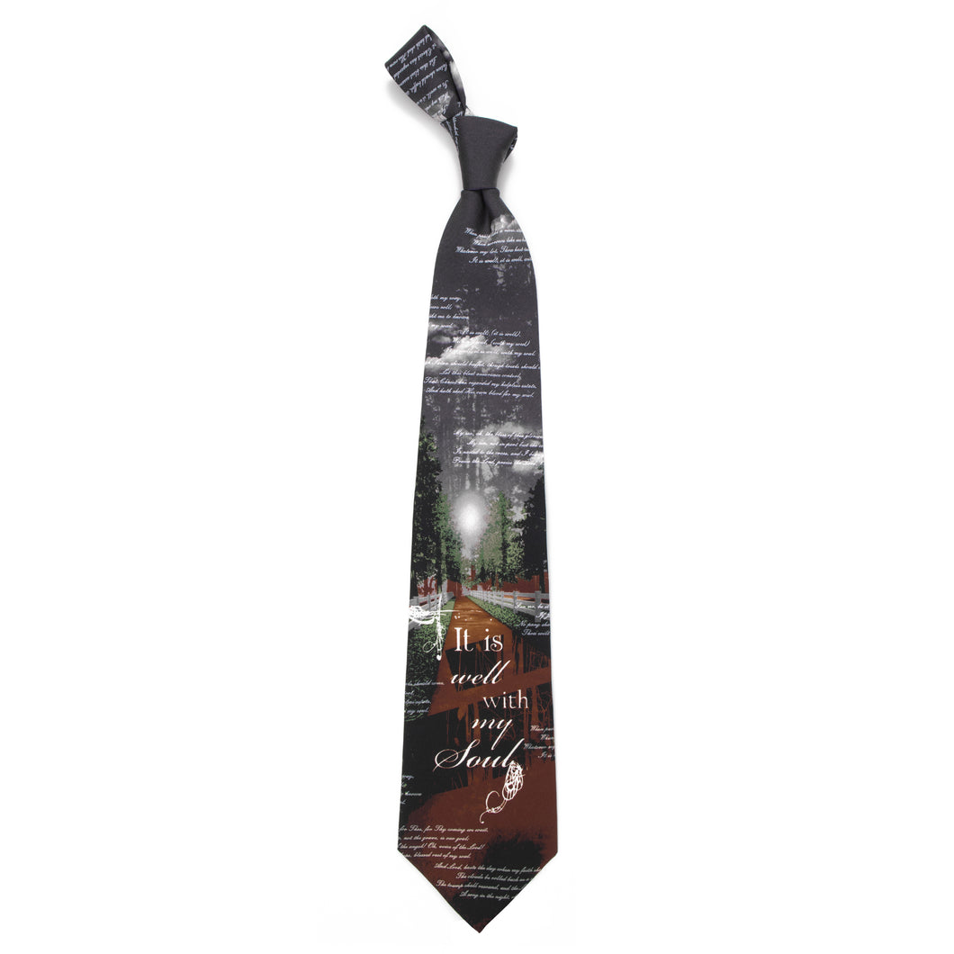 Inspirational Tie - It Is Well With My Soul