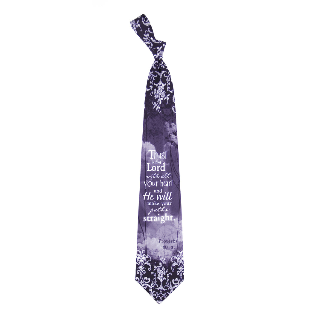Inspirational Tie - Your Paths