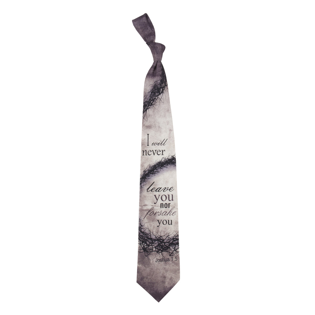 Inspirational Tie - Forsake You