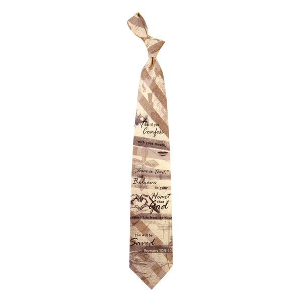 Inspirational Tie - You Will Be Saved