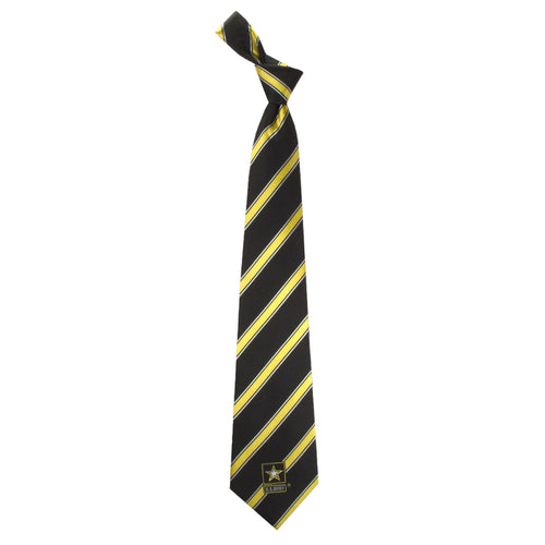 Army Tie Woven Poly 1