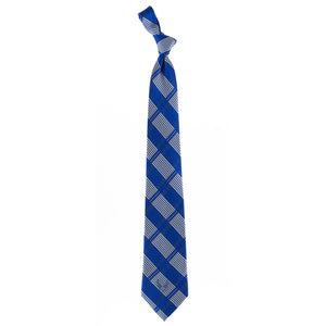 Air Force Tie Woven Plaid