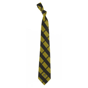 Army Tie Woven Plaid