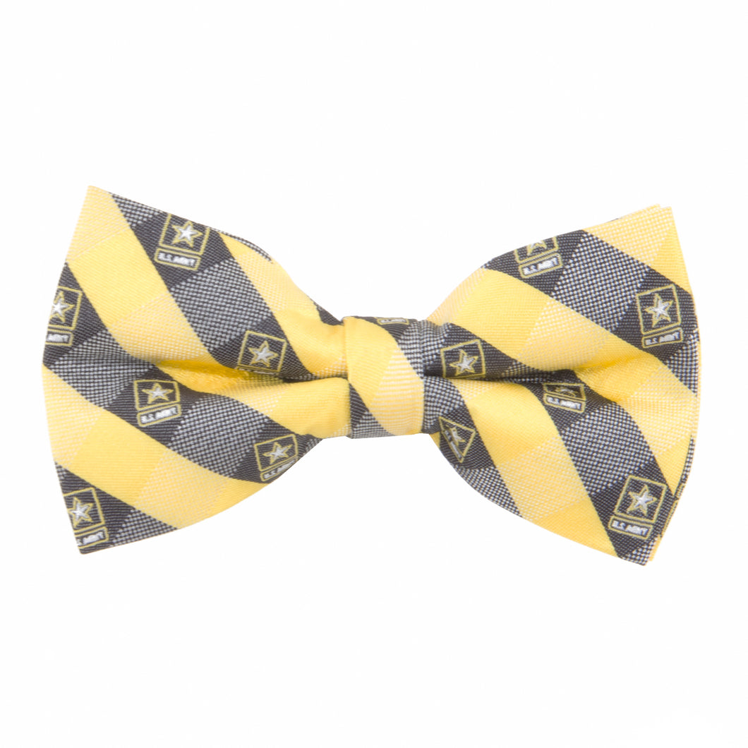 Army Bow Tie Check