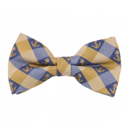 Navy Bow Tie Check