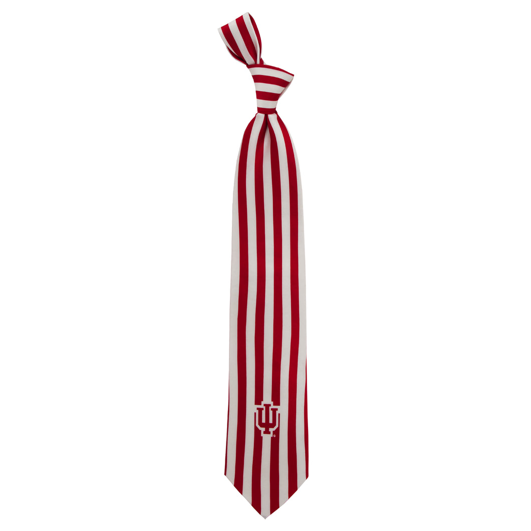 Indiana Hoosiers Tie Candy Stripe