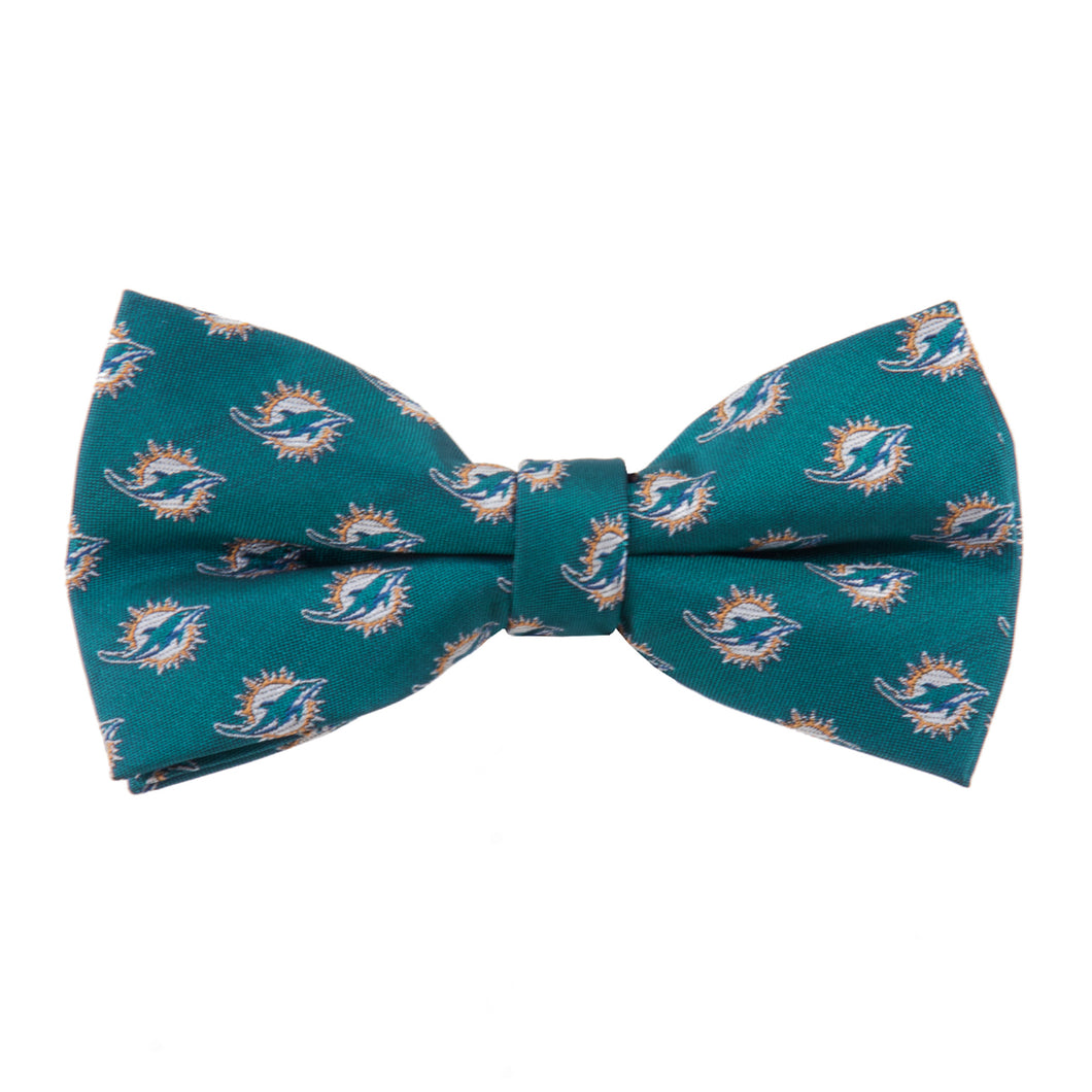 Miami Dolphins Bow Tie Repeat