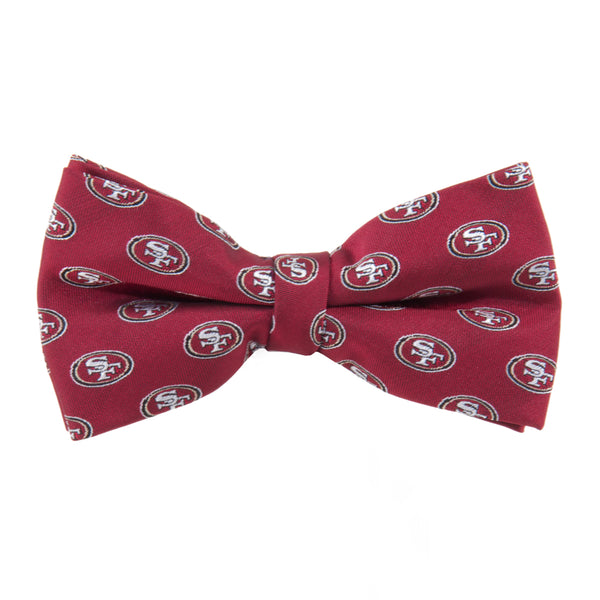 San Francisco 49ers Bow Tie Repeat