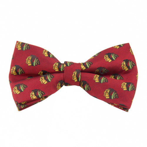 Blackhawks Bow Tie Repeat