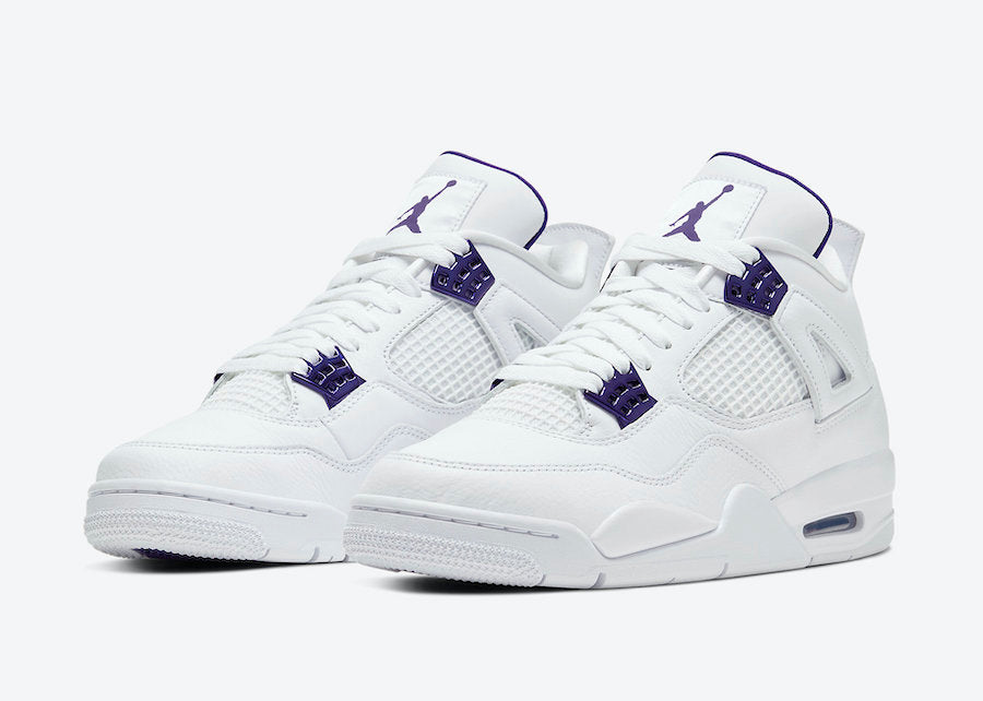 AIR JORDAN 4 PURPLE METALLIC AKA PURPLE RAIN