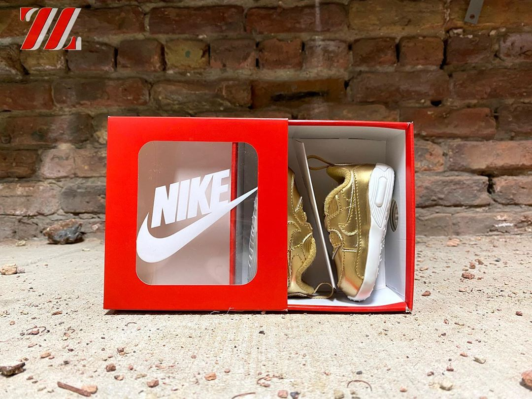 "Crib Nike Air Max 90 SP ""Liquid Gold"""