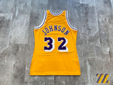 Mitchell & Ness Magic Johnson Jersey