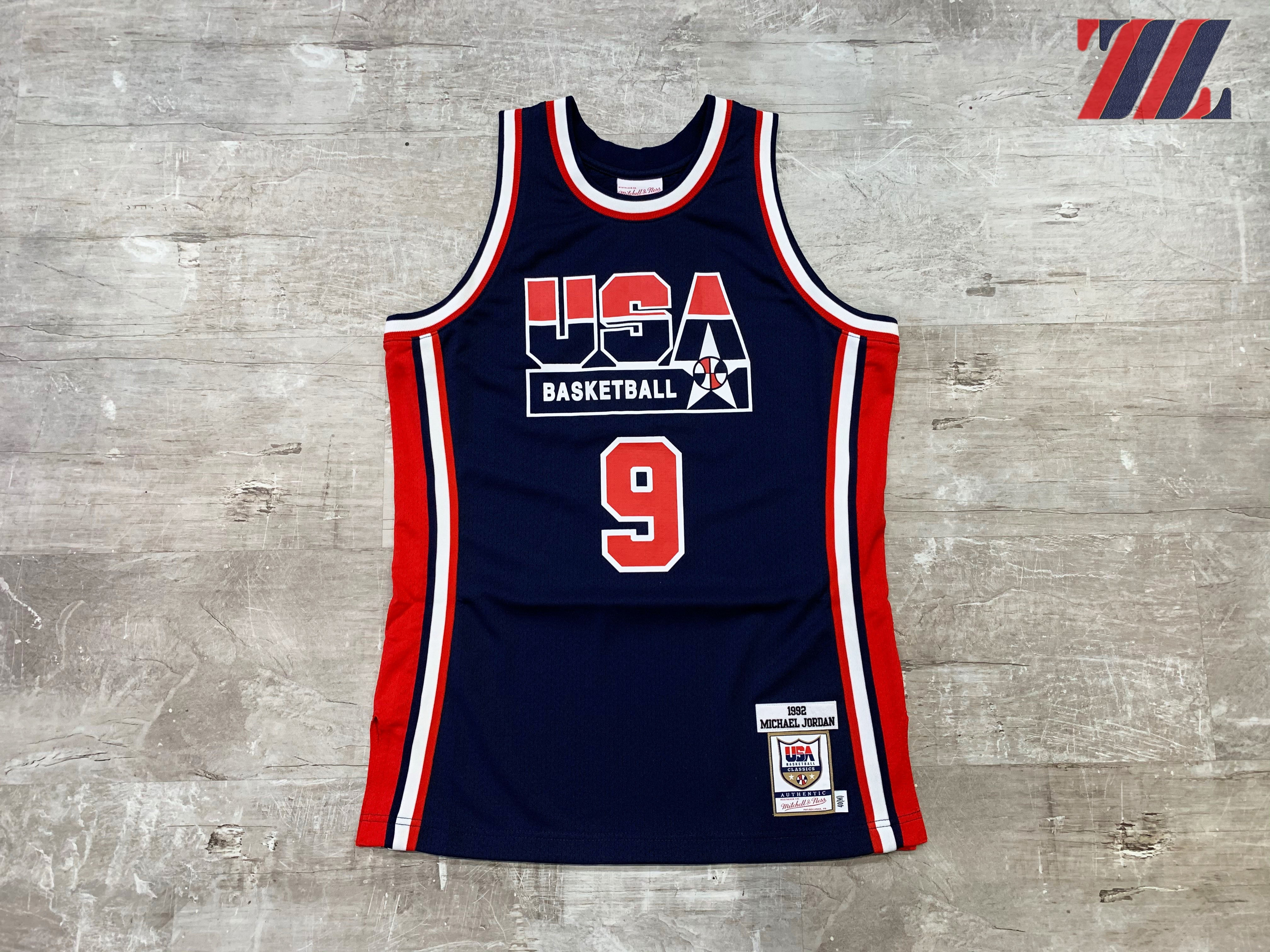Mitchell & Ness Jordan Team USA Jersey