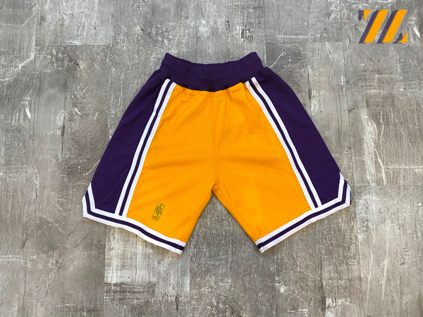 Men's Mitchell & Ness Authentic Lakers Shorts