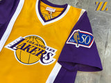 Men's Mitchell & Ness Authentic Lakers Shooting Shirt